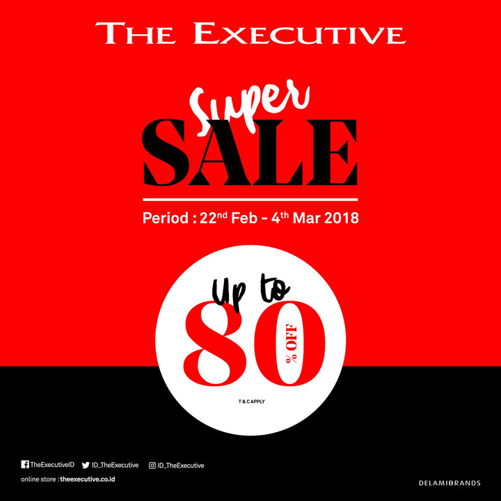 Discount Up to 80% from The Executive