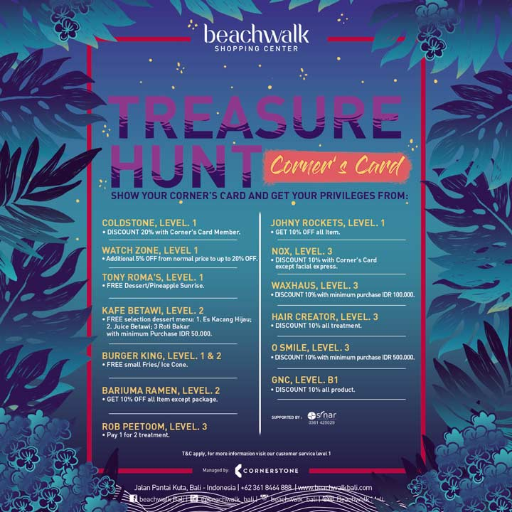 Treasure Hunt Promo from Beachwalk