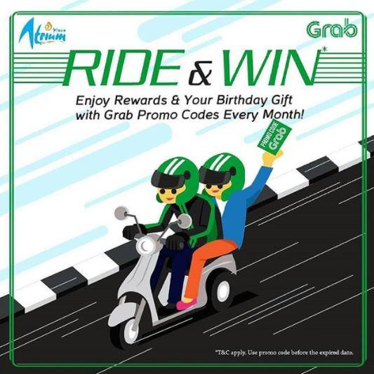 Ride & Win at Plaza Atrium
