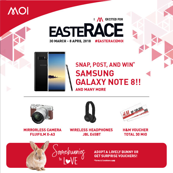 EasteRace at Mall of Indonesia