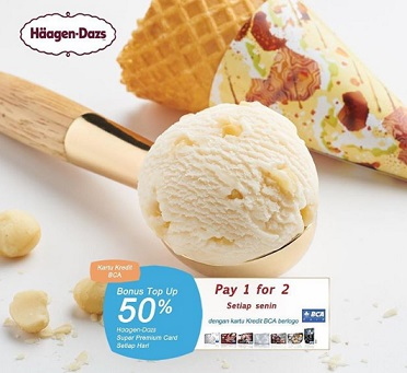 Special Promo from Haagen-Dazs