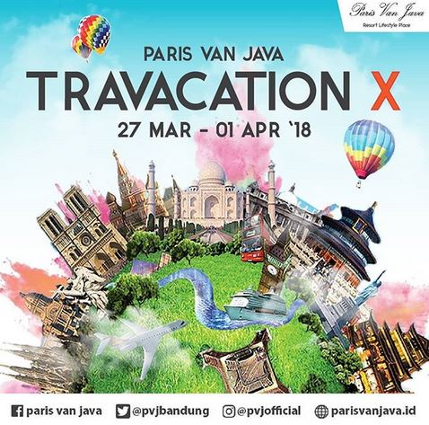 Travacation X at Paris Van Java