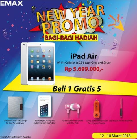 Promotion Buy 1 Free 5 from Emax</h3>