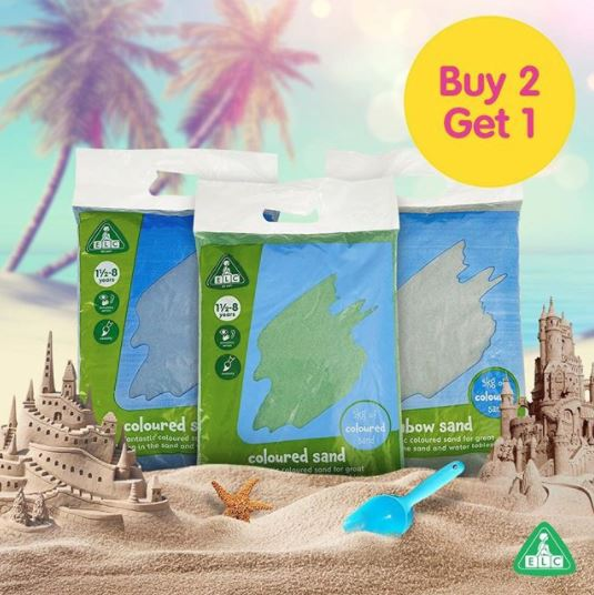 Colored Sand Buy 2 Get 1 Free from Early Learning Center