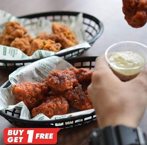 Buy 5 Free 5 at Wing Stop