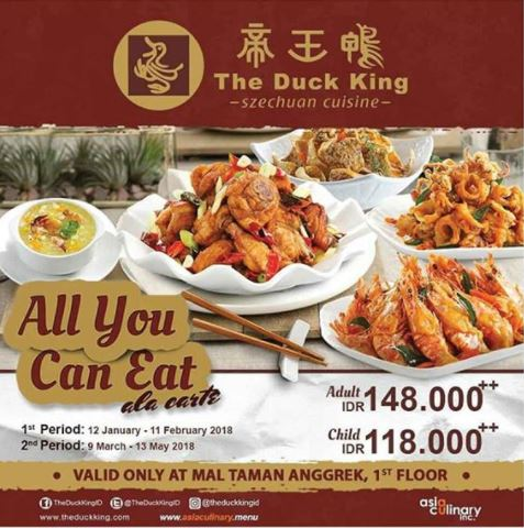 All You Can Eat on Duck King