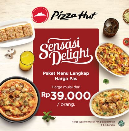 Sensasi Delight at Pizza Hut