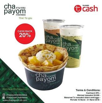 20% Cashback promo with TCash at Chapayom