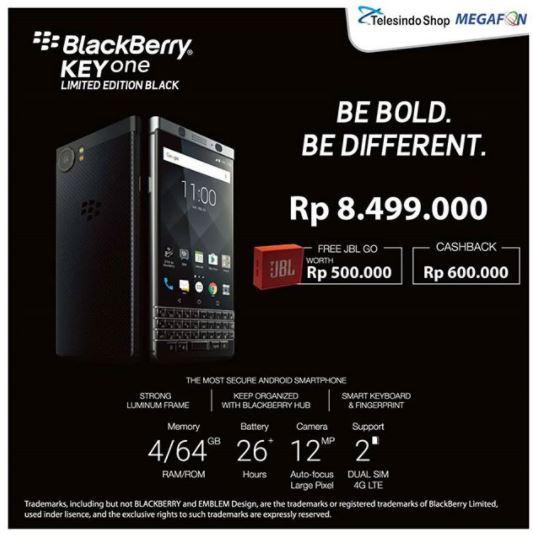 Promo Blackberry Keyone at Telesindo Shop