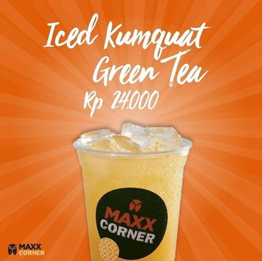 Promo Iced Kumquat Green Tea at Maxx Corner