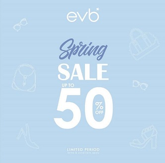 Promo Spring Sale Discount Up to 50% from EVB