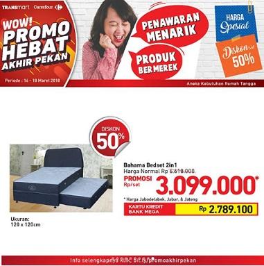 Promo Special Price Bahama Bedset at Transmart Carrefour