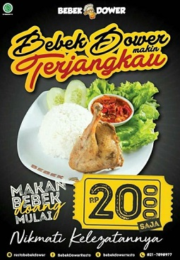 Promo Special Price Rp 20,000 from Bebek Dower