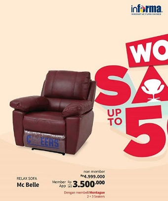 Super Promo Special Price Relax Sofa Mc Belle At Informa Gotomalls Pdpeps Interior Chair Design Pdpepsorg