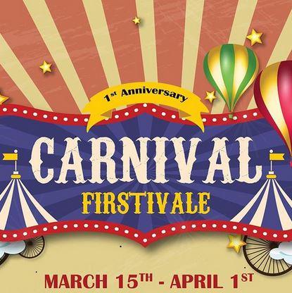 Carnival Firstival at Resinda Park Mall