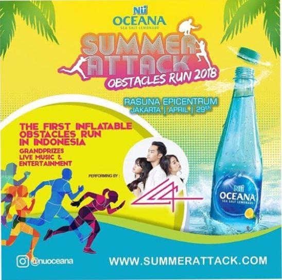 Nu Oceana Summer Attack at Epiwalk Mall