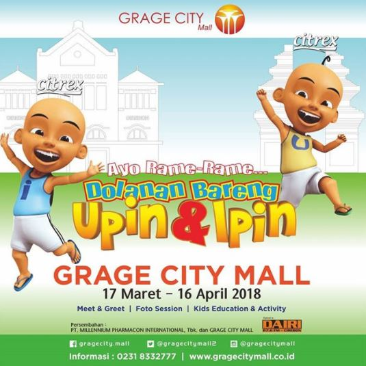 Eating clean workshop season 2 at ranch market gotomalls dolanan with upin ipin at grage city mall stopboris Image collections