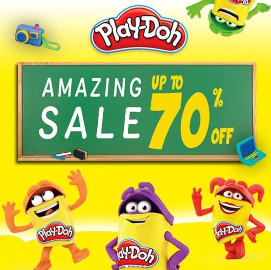 Promo Discount Up to 70% Play-Doh at Kidz Station