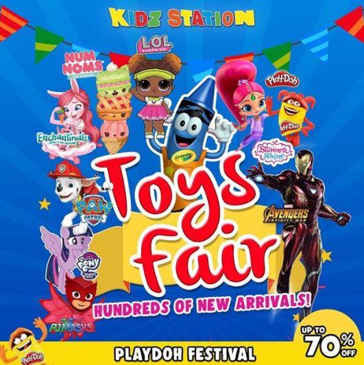 Toys Fair in Kidz Station