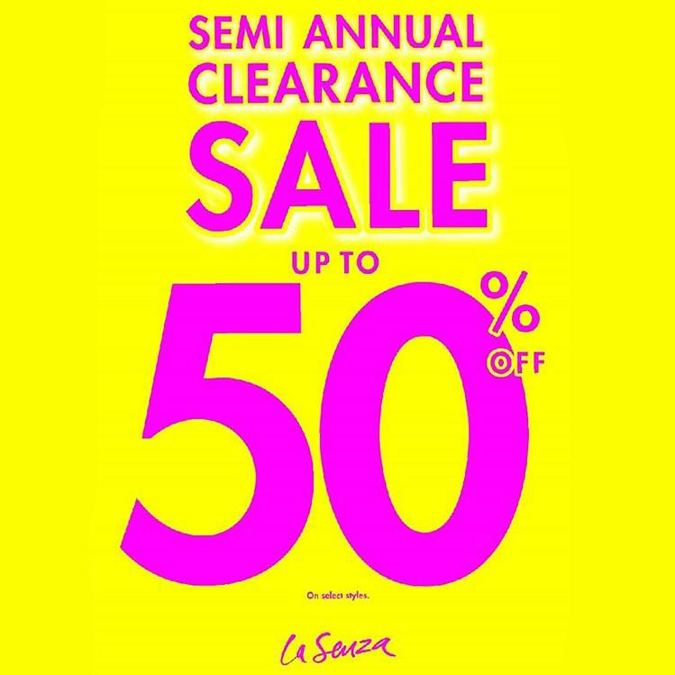 Sale Up to 50% from La Senza