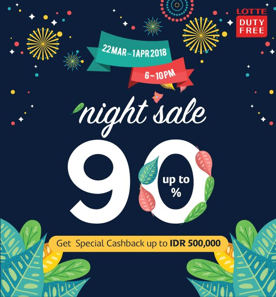 Discount Up to 30% from Lotte Duty Free