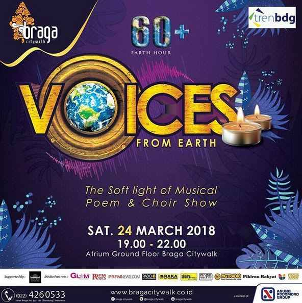 Voices From Earth at Braga Citywalk
