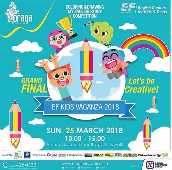 EF Kidz Vaganza at Braga Citywalk