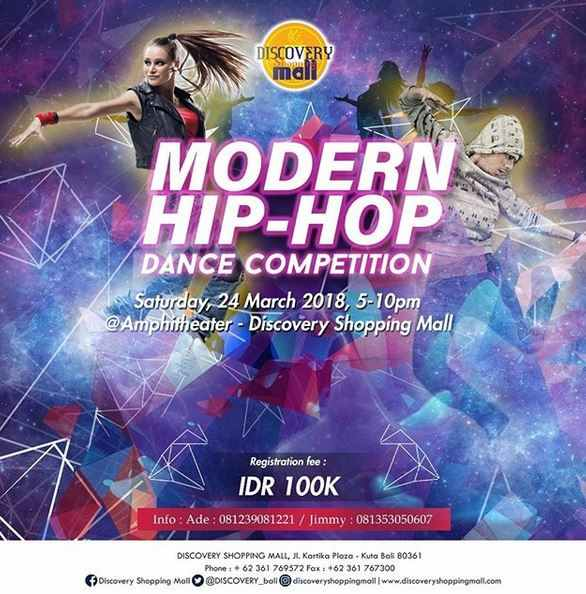 Modern HIP-HOP Dance Competition at Discovery Shopping Mall