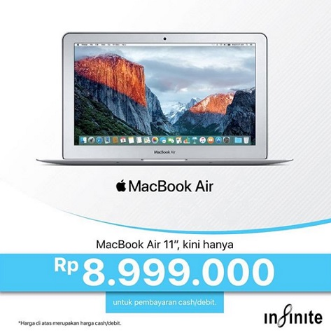 Special Price Rp 8.999.000 MacBook Air 11