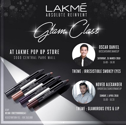 LAKME Makeup Beauty Workshop Glam Class at SOGO Central Park
