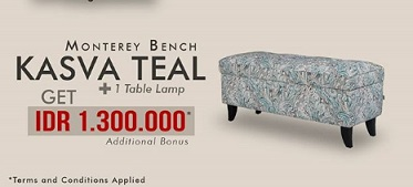 Additional Bonus Rp 1.300.000 from Floral Home