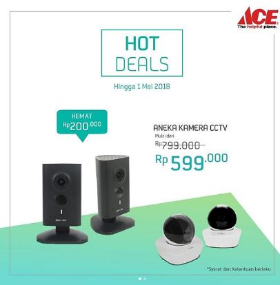 Save Up to Rp 200,000 from Ace Hardware