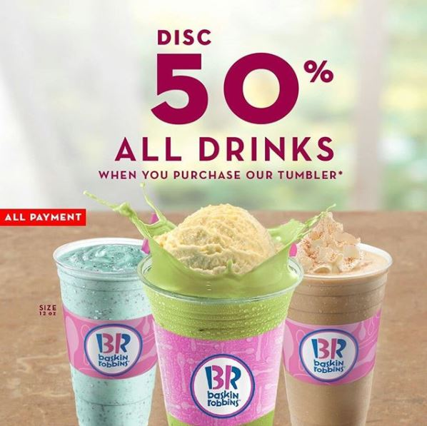 Discount 50% from Baskin Robbins