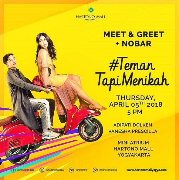 Meet Greet Film Teman Menikah At Hartono Mall Jogja