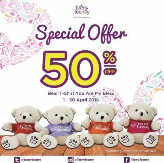 Discount 50% from Gramedia at Gramedia Cibinong City