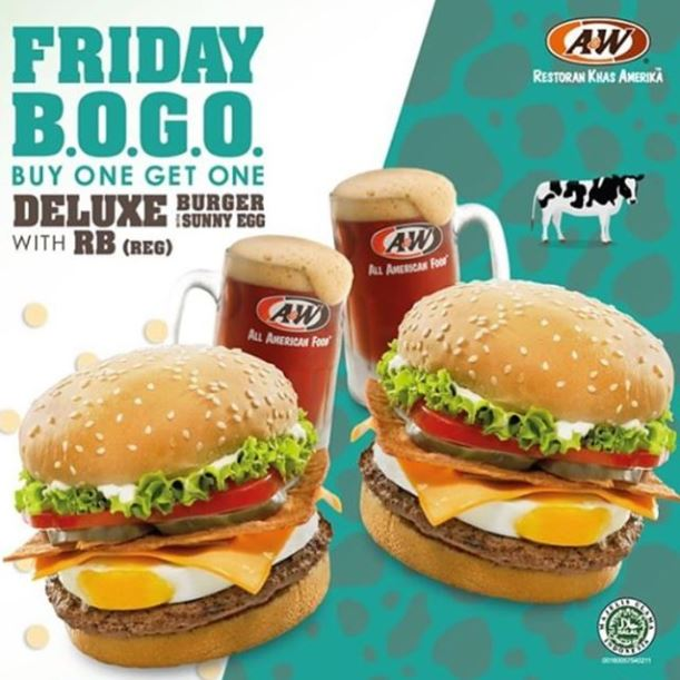 Buy 1 Get 1 Free from A&W