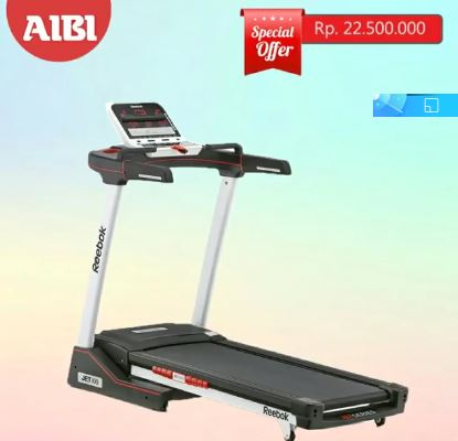 Special Price Treadmill M1 Only Rp. Rp20,184,000 from AIBI