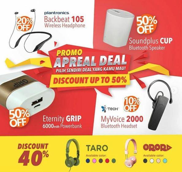 Discount up to 50% from Wellcomm Shop at Paragon Mall Semarang