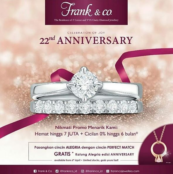 Save Up To Rp 7000000 From Frank Co H3