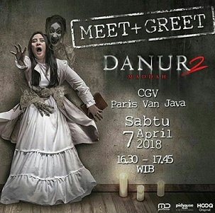 Meet Greet Danur 2 Maddah At Cgv Blitz Paris Van Java Gotomalls