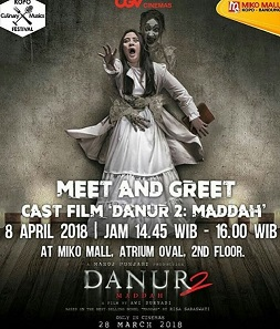 Meet Greet Danur 2 Maddah At Miko Mall Kopo Bandung Gotomalls