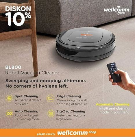Discount 10% at Wellcomm Shop