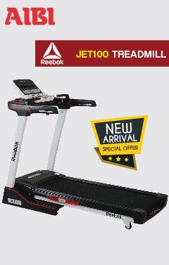 Treadmill Reebok Jet Fuse Promotion at AIBI
