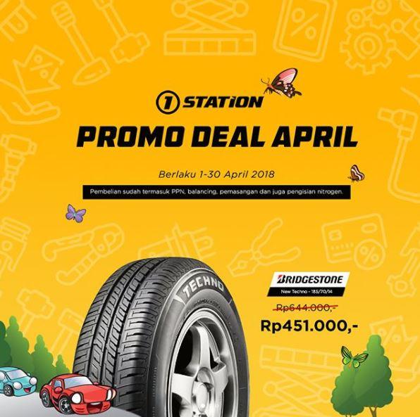 Special Price Rp 451.000 Bridgestone Tire at 1Station