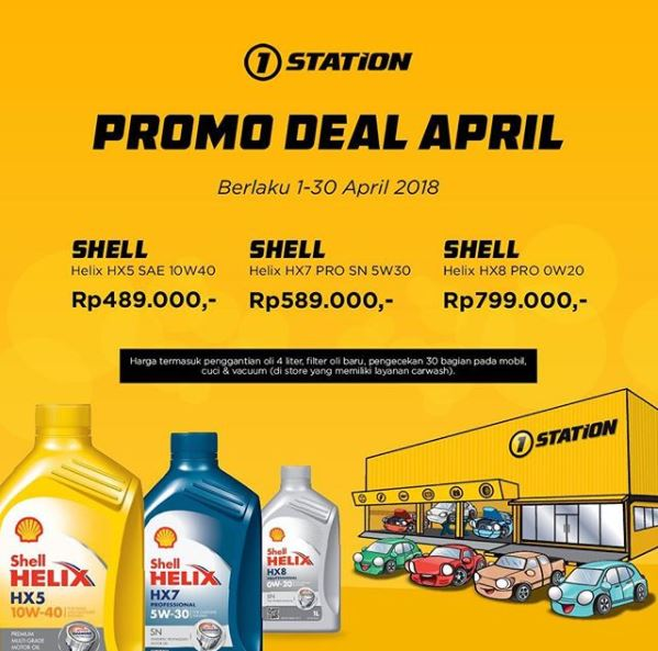 Oil Service Promotion at 1Station