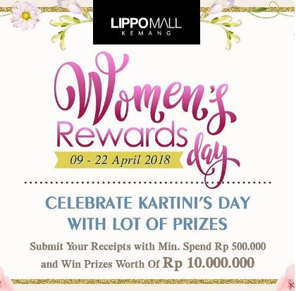 Women's Reward Day from Lippo Mall Kemang