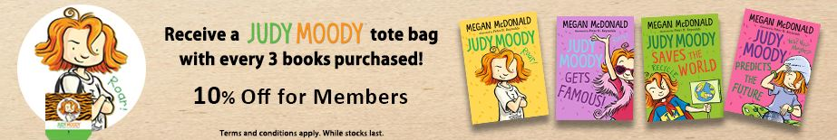 Free Judy Moody Tote Bag At Popular Bookstore Compass One