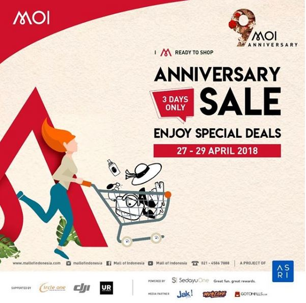 Anniversary Sale at Mall Of Indonesia