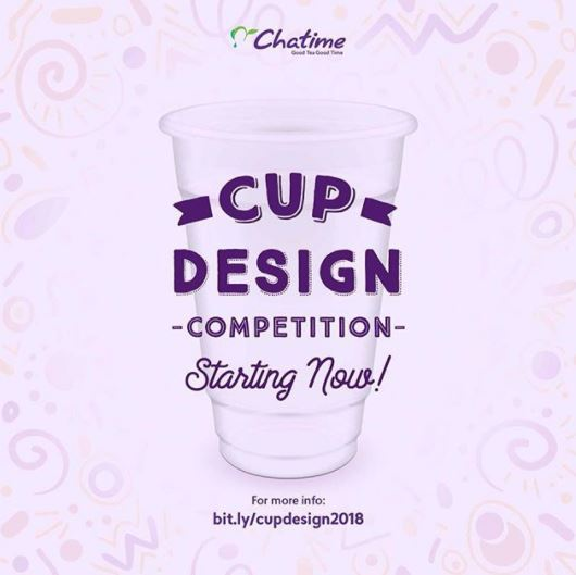 Event Cup Design Competition dari Chatime