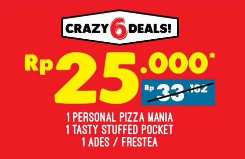 Special Price at Domino Pizza